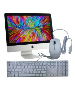 """Apple iMac 21.5"""" Late 2012 500GB SSD 8GB RAM i5 2.7GHz with mouse and Apple original keyboard"""